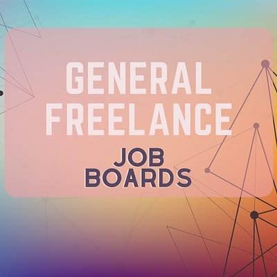 General freelance remote job boards