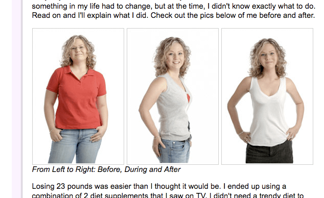 Before and After Photo Fraud