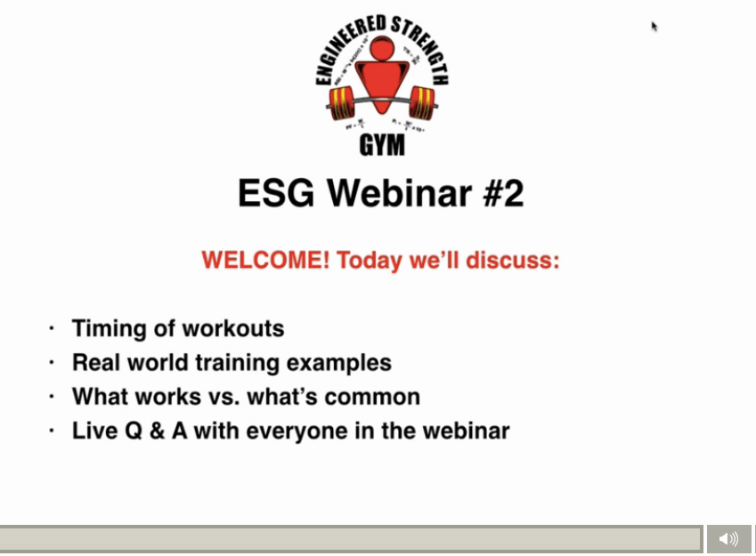 ESG Webinar #2