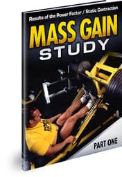 Mass Gain Study Results