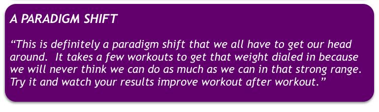 ENGINEERED STRENGTH GYM - Paradigm Shift